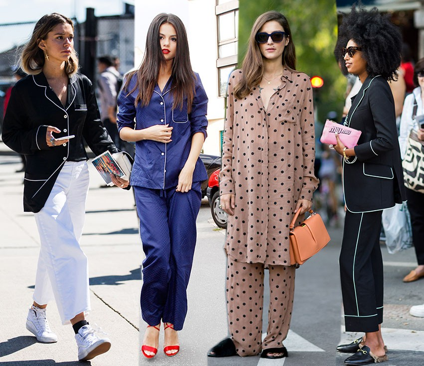 H Σελίνα Γκόμεζ και fashion bloggers με πιτζάμες το 2015