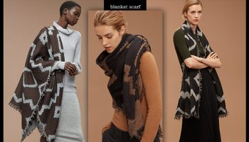 blanket scarf by idesign