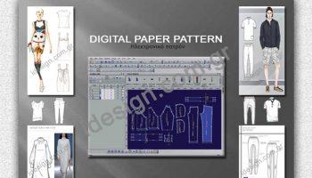 dizital paper pattern by idesign.com.gr