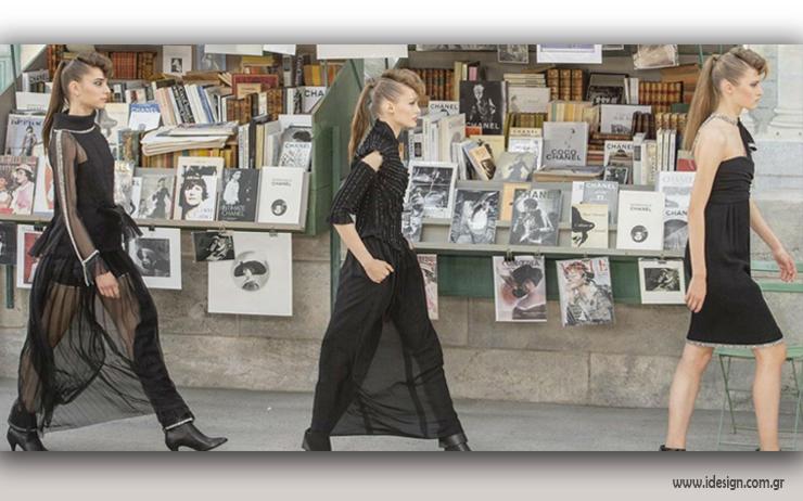 f0fbb910a0 News stands γεμάτο περιοδικά μόδας και βιβλία