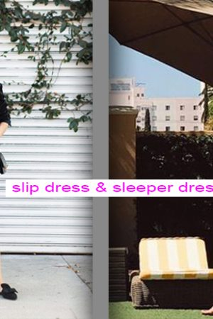 slip dress sleeper dress photo by idesign